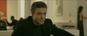 Screenshot of Justin Timberlake as Sean Parker from The Social Network