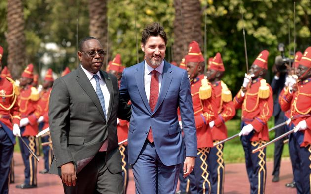 Prime Minister Trudeau meets with Senegal President Macky Sall