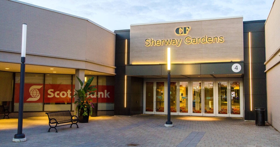 Sherway Gardens entrance